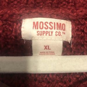 Mossimo Supply Co. Sweaters - ••🌸Red Oversized Cardigan🌸••